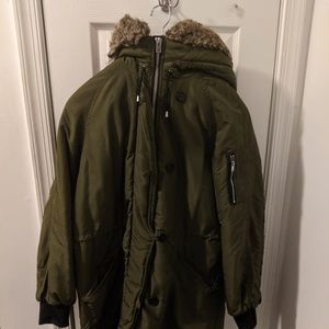 H&M quilted padded parka